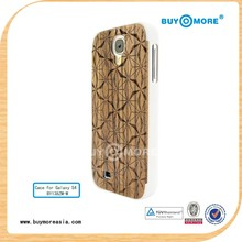 cover case for samsung galaxy s duos s7562 wood and pc