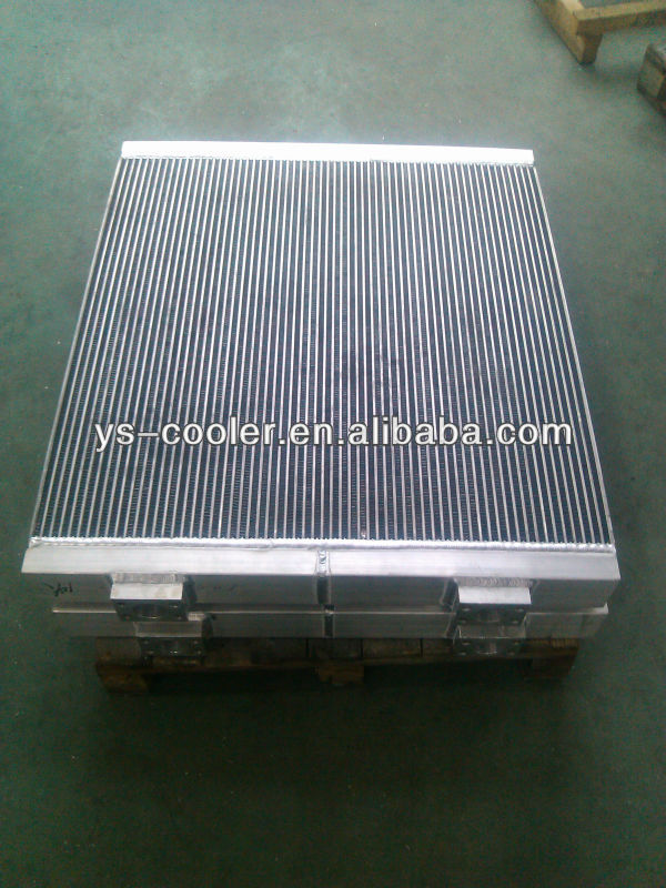 aluminum plate-fin radiator for caterpillar