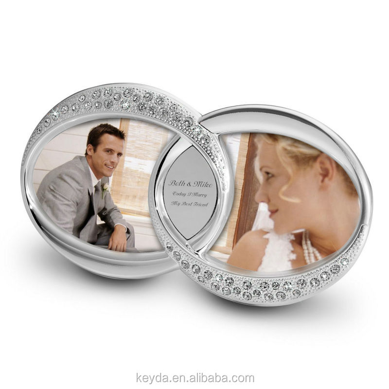 Double Wedding Ring Photo Frame