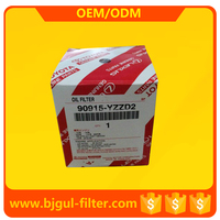 Used for automotive engine oil filter for toyota OEM NO. 90915-YZZD2