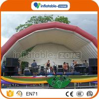 Professional inflatable giant iglu marquee tent outdoor inflatable marquee logo tent