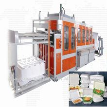 plastic vacuum forming machine for making PS foam lunch box