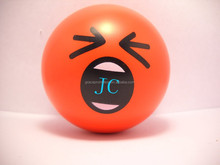 Football basketball promotional soft pu anti stress ball for kids