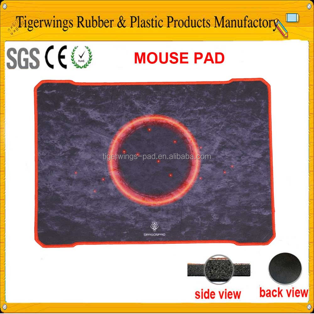 Tigerwingspad anti-slip durable mousepad,hot cold mouse pad mat