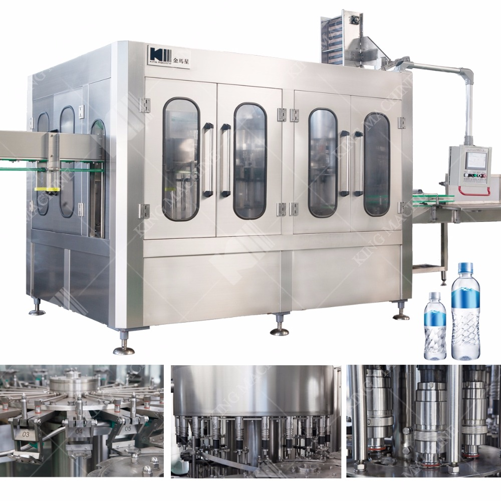 Water Bottle Filling Line / Bottling Machine / Plant Manufacturers