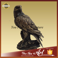 Indoor Decoration Bronze Eagle Bird Sculpture