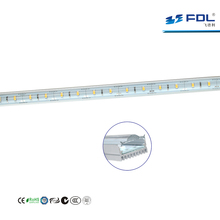 Transparent /Frosted/Convex Cover Aluminum LED Profile Bakery Counter 20W LED Rigid Strip Light