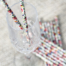 disposable paper drinking straw for kids and adults
