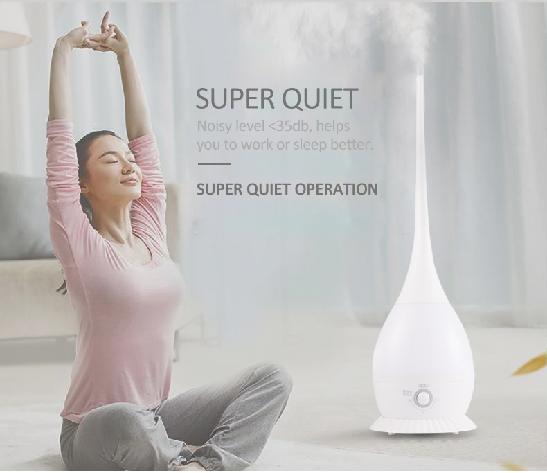 centrifugal humidifier ocean mist humidifier ultrasonic whisper quiet cool mist humidifier