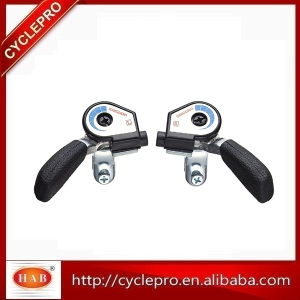 Shift Lever HLSL22-3A/6A bicycle derailleur parts, bicycle shifting lever, bicycle thumb shifter with Shift Cables