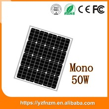 factory price mono 50w solar panel big discount made in china, sun panel