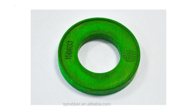fkm, viton molded rubber part with carved logo