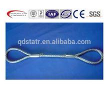 Factory Price Galvanized Round Strand Steel Wire Rope with high quality