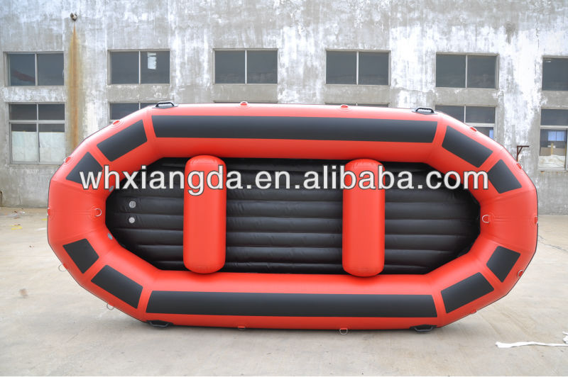 plastic cheap inflatable raft boat