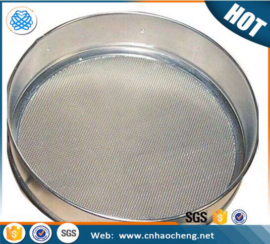 15 30 mesh stainless steel laboratory sieve for soil lab