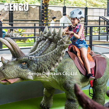 Playground Simulation Dino Ride Rocking Dinosaur Ride