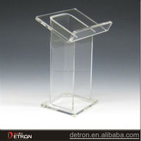 clear beautiful acrylic open book display stand