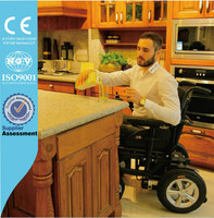 Showgood cheap price electric motor powered wheelchair