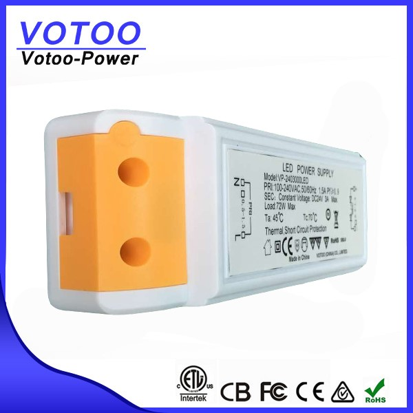 LED Driver with Constant Voltage for 3w 6w 9w 12w 15w led light bulbs
