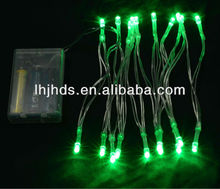led light battery operated of green color