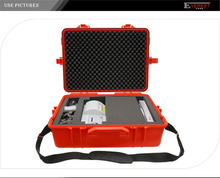Black Or Red Hard Electrician Tool Boxes Waterproof Portable Instrument Case
