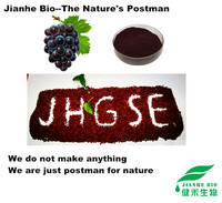 Proanthocyanidins 95% organic grape seed extract with ISO,Halal,Kosher certification ( HPLC or UV )