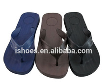 Old eva injection navy flip flops bulk for men