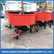 Manual pan type cement concrete mixture machine