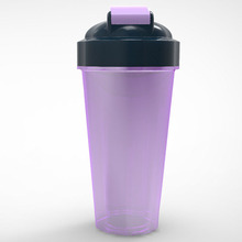 Latest Design BPA Free Protein Shake Bottle With ball