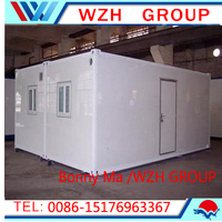 movable houses for sale / container house bathroom