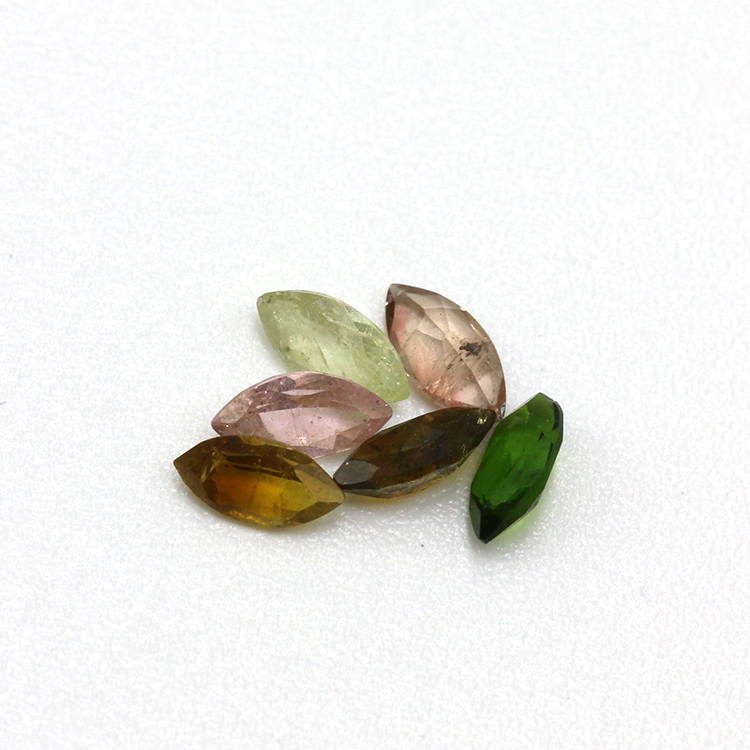 top quality Marquise shape natural tourmaline per price jewelry