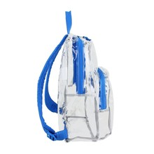 custom plastic pvc clear kids school back pack