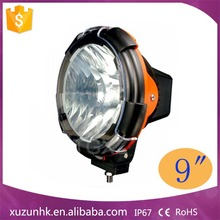 Hot sale 9inch 75w hid driving light,24 volt led driving lights for Motorcycle ,Jeep ,Trucks