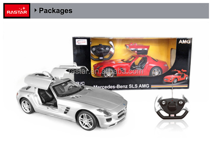 RASTAR toy Mercedes 1:14 big car operated with battery toy for kids