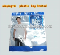 advertisement bags cloth bag with zipper and hanging hole