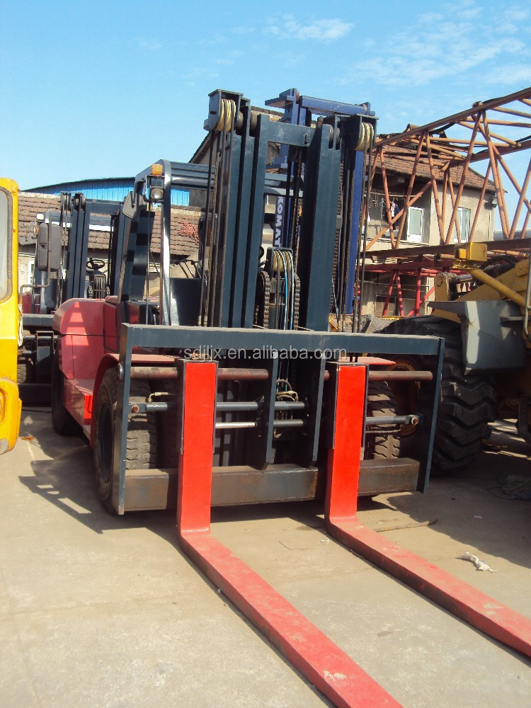 Factory Price Professional Promotion Price 25ton used toyota diesel forklift
