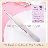 High Quality Stainless Steel Acne & Blackhead Clip, Tweezer For Blackhead, Sharp and Easy Handling
