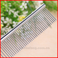 High quality Stainless steel different size beauty comb for pets