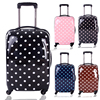 4 Wheels Hard Plastic Kids Luggage