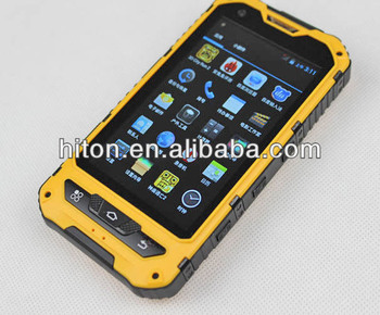 Cheap Factory 4 inch Waterproof phone Rugged with CE Certication