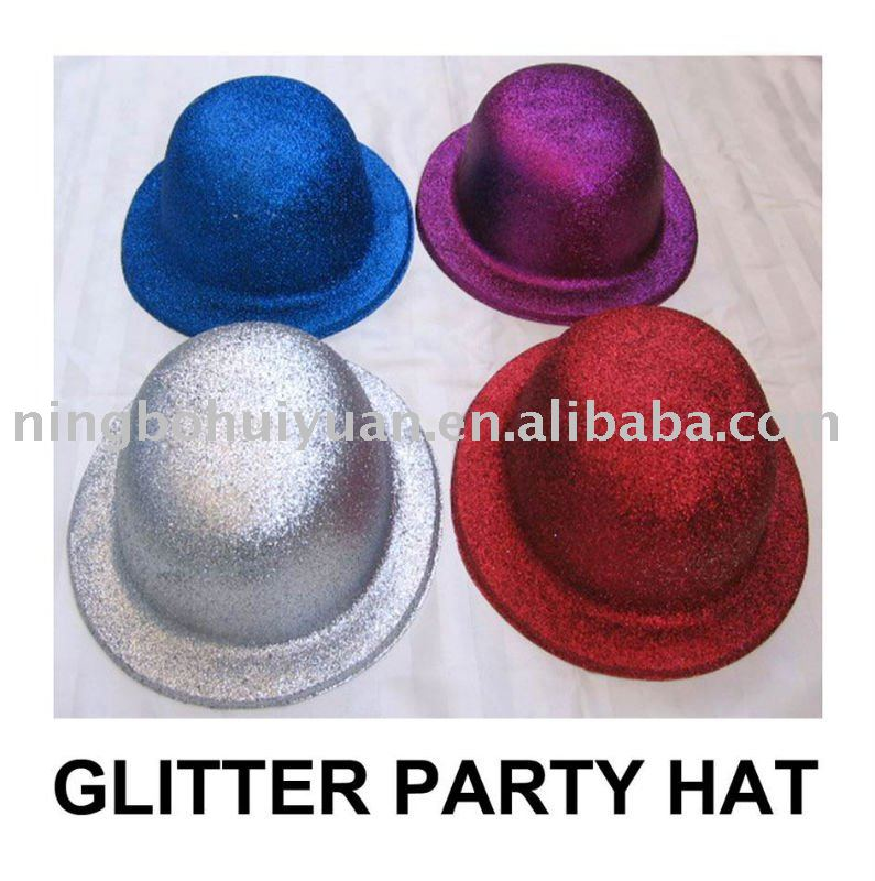 glitter party hat