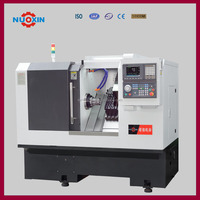 6-st gang and 2-servo power heads facing milling ,CNC machining center cnc lathe machine price