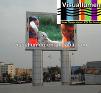 DIP p10 outdoor full color bank led display