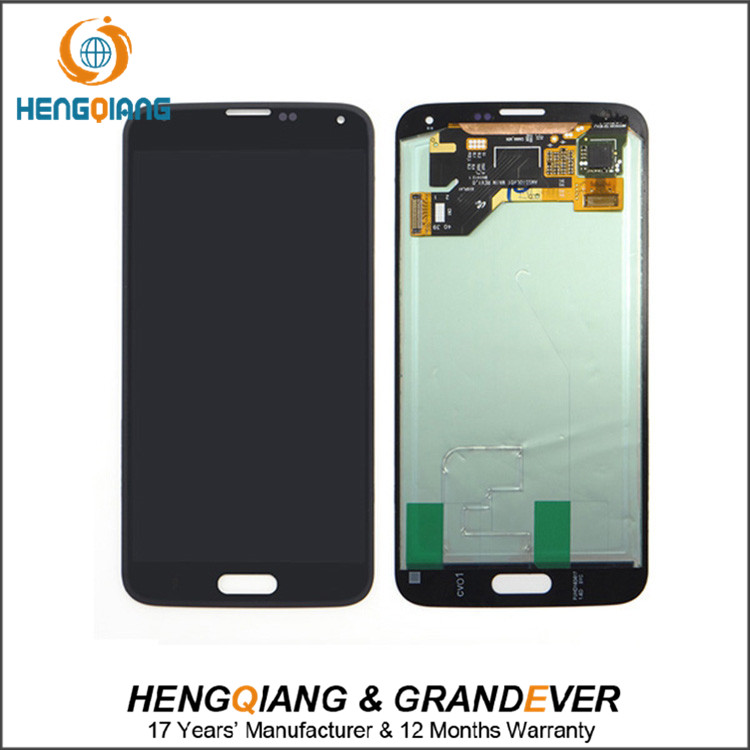 chinese manufacturer custom lcd digitizer assembly for samsung galaxy s5 lcd screen digitizer