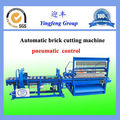 20 bricks per time! pneumatic control fully automatic brick cutter
