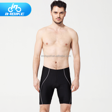 Summer men dry fast bike cycling shorts with gel pad