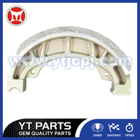 Die- Casting Motorbike Parts Of Brake Shoe CG125