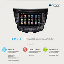 Android In-dash Car DVD player with 3G WIFI For Hyundai Veloster