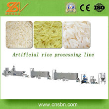 Broken rice reused manufacturer Extruded Rice Making Processing Line/Shandong China Nutrition Artificial Rice Making Machine