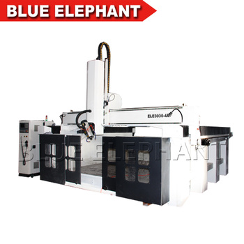 High speed DX-3030-4A cnc router 4 axis rotary axis